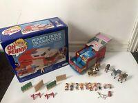 Vintage - Bluebird - Oh Penny Horse Transporter, Figures, Horses Job Lot Retro