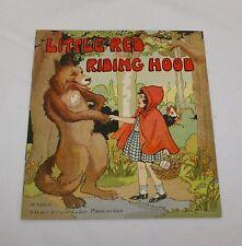 Little Red Riding Hood 3000D Platt & Munk Eulalie Banks Vint 1934 Childrens Book