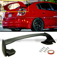 For 07-12 Nissan Sentra 4DR B16 JDM Style Unpainted ABS Rear Trunk Wing Spoiler