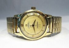Estate Vintage 14K Gold Filled Omega Seamaster GX6250 Men Wrist Watch C2493