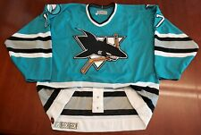 Pat Falloon Vintage San Jose Sharks CCM Authentic Jersey