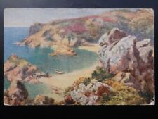 Jersey: Portelet Bay c1909 by Raphael Tuck & Sons No.7319