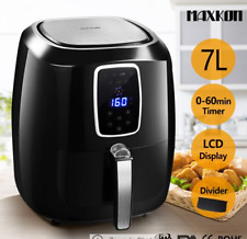1800W Air Fryer LCD 80-200°C 7L Oil Free Digital XL Turbo Cooker Oven Timer