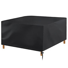 Garden Furniture Cover, Patio Rattan Covers Waterproof Table Covers with Anti-UV