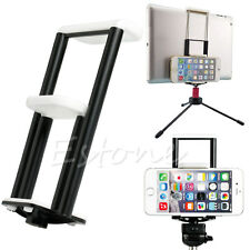 Universal 2in1 Tripod Stand Bracket Holder Clip Mount  For Cell phone ipad y
