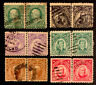 G8/85 US Philippines 1899- 213 247 248- 1-20c 6 Pairs UNH Very Nice Pair Coll