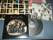 PAUL McCARTNEY Japan REISSUE EPS-80235 NM LP+Poster+Inner+Book BAND ON THE RUN