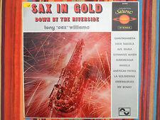 """LP 12 """" SAX IN GOLD - Tony """"Sax"""" Williams - NM/MINT - NEUF - Sonopresse 66000"""
