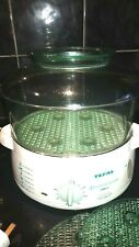 TEFAL STEAM CUISINE FOOD STEAMER ELECTRIC 1000  LARGE CAPACITY GREAT USED