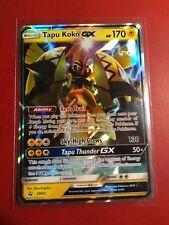 Tapu Koko GX SM33 Black Star Promo - Near Mint Ultra Rare Pokemon Card