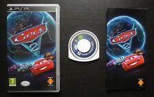 DISNEY PIXAR CARS 2 : JEU Sony PSP (enfants COMPLET envoi suivi)