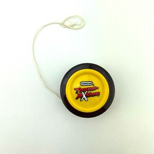 Duncan TransAxtion Super Spinning Yo-Yo Vintage Red And Yellow Tested