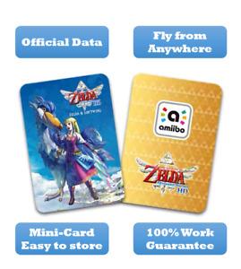 Legend of Zelda Loftwing Skyward Sword Amiibo Card