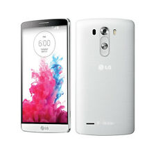 White LG G3 D851 4G LTE 32GB 13.0MP Camera Unlocked Android OS Mobile Phone