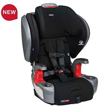 Britax Grow With You ClickTight Plus Child Safety Booster Car Seat Jet SafeWash