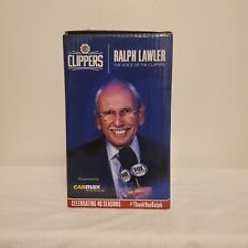Ralph Lawler Voice of the LA Clippers  Voice Chip 2019 Bobblehead