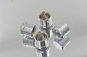 50 Noise Stopper Rhodium Plated Copper RCA Plug Caps Top Quality USA Seller