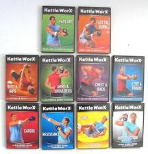 KettleWorX Ultra 10 DVD Set Six Week Body Ultimate 10 Minute Kettlebell Exercise