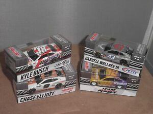 ACTION NASCAR LOT 1/64 2020 ELLIOTT BLANEY BUSCH WALLACE CAMARO MUSTANG CAMRY