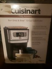 Cuisinart Burr Grind & Brew DGB-800 12-Cup Coffee Maker - Black/Stainless Steel