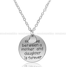 Hot Sale! The Love Between A Mother and Daughter Is Forever Pendant Necklace