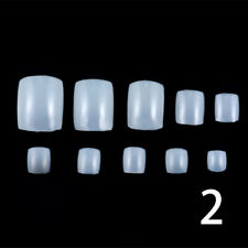 500 PCS Acrylic French False Duck Toe Nail Art Tips 3 Colors for Choose NEW.