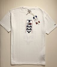 Tommy Jeans T-Shirt Letter logo Front & Back Size Medium New with Tag!