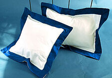 800 Tc Egyptian cotton Solid Border Pillow Sham All Size & Color