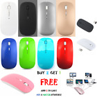 2.4GHz USB Wireless Optical Mouse Mice for Laptop Mac Macbook Pro Air PC DPI USA