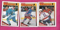 1991-92 CANADIENS / NORDIQUES / NY GUY LAFLEUR TRIBUTE CARD (INV# C1933)