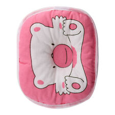 PINK Bear Printed Pillow Newborn Infant Baby Support Cushion Pad Prevent Flat