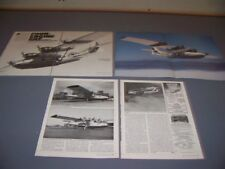 """VINTAGE..PBY-5A """"4-ENGINED"""" HISTORY..HISTORY/PHOTOS/DETAILS...RARE! (876N)"""