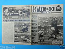1963 il calcio e ciclismo illustrato n. 15 inter fiorentina milan mantova rivera