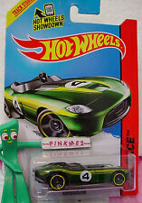 Case L/M 2014 i Hot Wheels RRROADSTER #155☆Green; Yellow; 4☆Thrill Racers