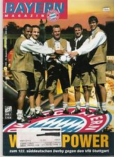 Bayern Magazin 3/51 , Bayern München - VfB Stuttgart , 24.09.1999