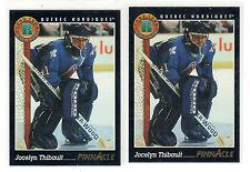 1X JOCELYN THIBAULT 1993-94 Pinnacle #440  Rookie RC NMMT Lots Available Nordiqu
