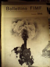 Bollettino FIMF 104 1978 Locomotive Monofase con poster