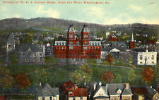 Washington,PA. W & J College Buildings from the West