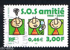 1 FRANCOBOLLO FRANCIA TELEFONO AMICO 2000 usato