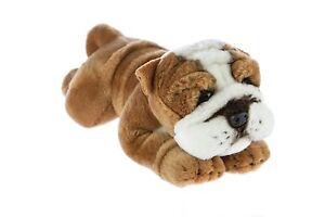 Bulldog Plush Stuffed Toy Dog 28cm/11in Brutus by Bocchetta