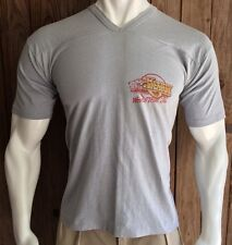 Kenny Rogers Men's XL Tshirt 1984 World Tour Vintage 80's Country Gray 50/50