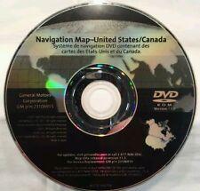 11.3 UPDATE 07 08 CADILLAC ESCALADE EXT ESV EQUINOX SPORT NAVIGATION DISC DVD