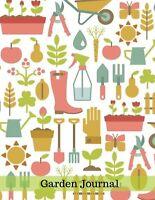 Garden Journal: Gardening Planner and Log Book Garden Record Diary W... NEW BOOK