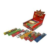 10 BOOKLETS JUICY JAYS MIX FLAVORED KING SIZE ROLLING PAPERS