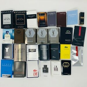 Designer Men's Cologne Perfume Samples - You Choose! Only Pay Shipping Once!