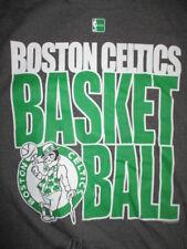 Hardwood Classics Majestic BOSTON CELTICS Basketball (MED) T-Shirt