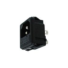 Fiche CHASSIS CLIPSABLE AVEC PORTE FUSIBLE Secteur Mâle 220 Volt 6 Amperes