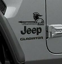 Fender Decals For Gladiator Models - Jt Gladiator Edition Decal (Pair)