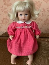 Kathe Kruse German Doll Girl With Blonde Hair 12inch  Original Clothing
