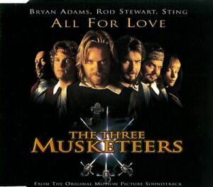 Bryan Adams / Rod Stewart / Sting - All For Love (CD, 1993)